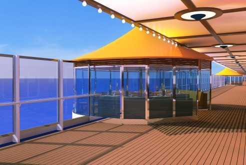 Costa Diadema Promenade dek5