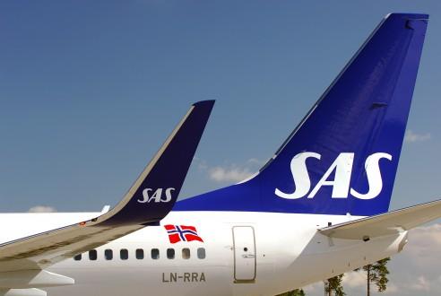 SAS vliegtuig